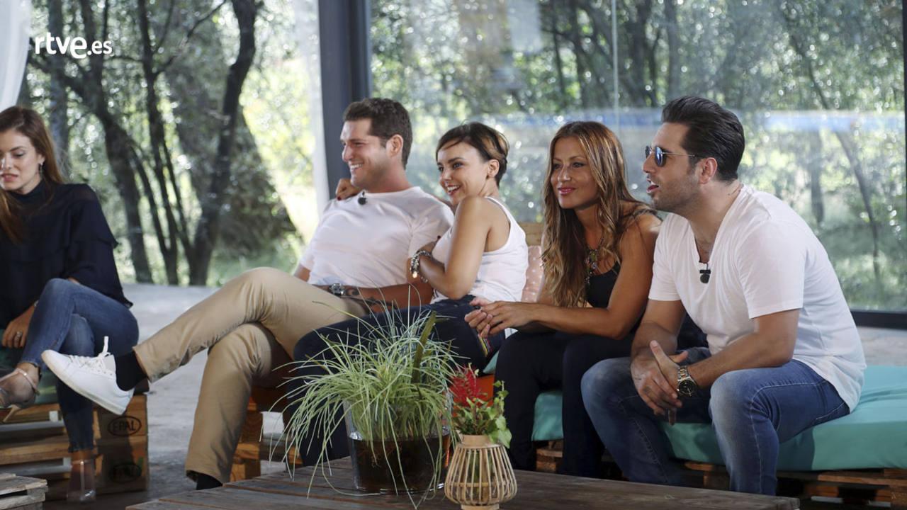 Geno, Manu Tenorio, Chenoa, Verónica y Bustamante