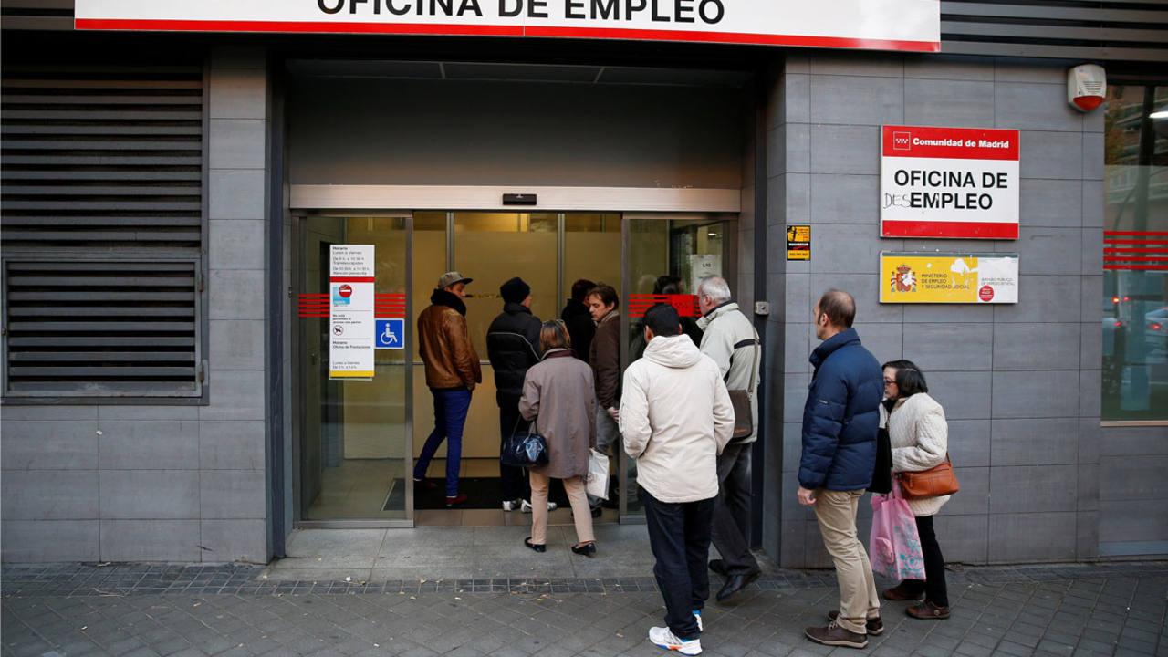 El paro sube en enero en espa a for Oficina de empleo madrid