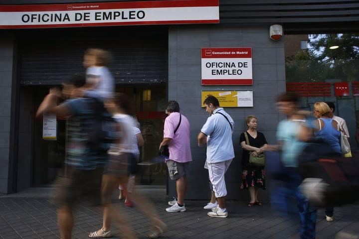El gasto en prestaciones por desempleo fue de for Oficina registro comunidad de madrid