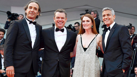 Ir al VideoGeorge Clooney presenta como director en la Mostra de Venecia 'Suburbicon'