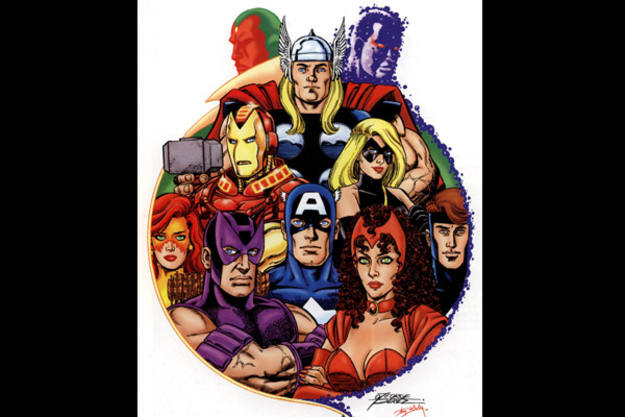 George Pérez está considerado el dibujante definitivo de 'Los Vengadores'