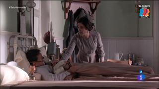 Seis Hermanas - Germán con mucho dolor y Marina no le sumistra nada