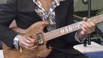 Ir al VideoGibson se interesa por guitarras construidas con barricas de las bodegas Osborne