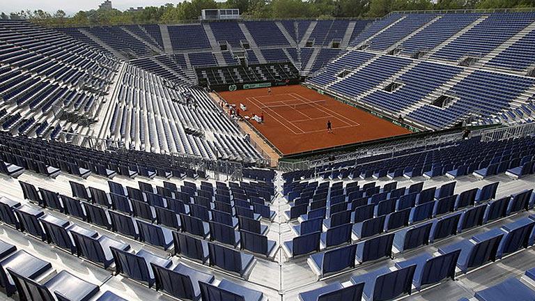 Gijón y la 'Armada', preparados para la semifinal de la Copa Davis