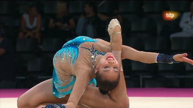 Gimnasia Rítmica. Campeonato del Mundo - Final individual aparatos: aro y pelota - 20/09/11