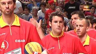 Baloncesto - Gira Preolímpica de la Selección española: Francia - España