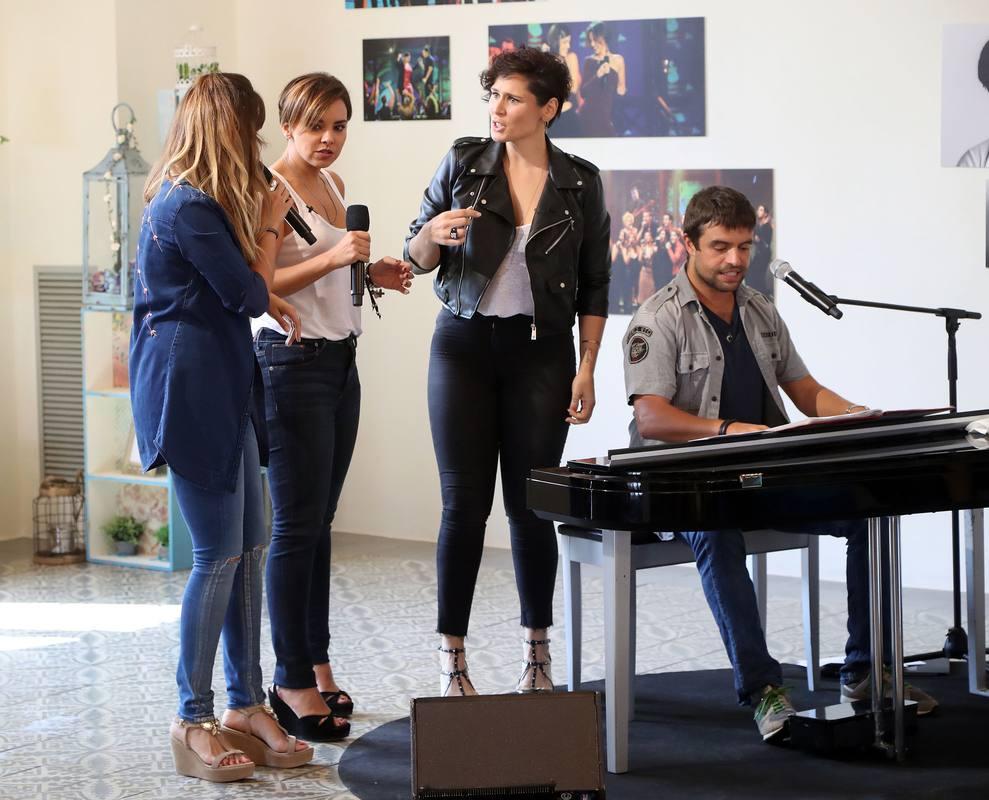 Gisela, Chenoa y Rosa, en el reencuentro de OT