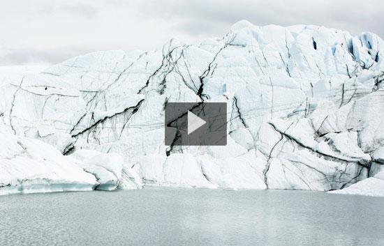 Los glaciares están en peligro por el cambio climático