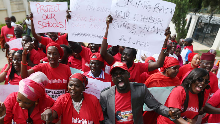 """El Gobierno de Nigeria está """"dispuesto"""" a negociar con Boko Haram para el rescate de las niñas"""