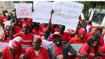"""Ir al VideoEl Gobierno de Nigeria está """"dispuesto"""" a negociar con Boko Haram para el rescate de las niñas"""