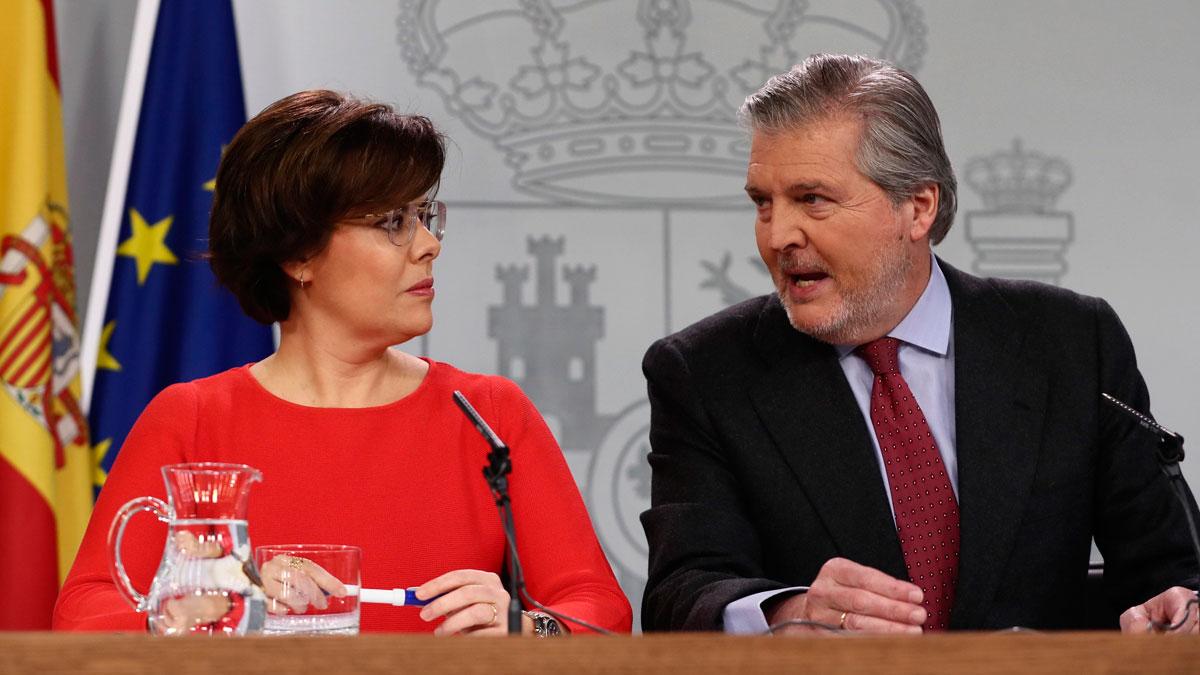 """Ir al VideoEl Gobierno recurre la candidatura de Puigdemont """"con todo el respeto"""" al informe desfavorable del Consejo de Estado"""