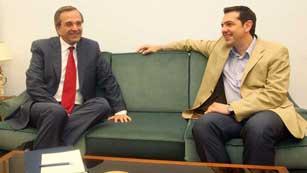 En Grecia socialistas y conservadores de Nueva Democracia dispuestos a formar gobierno