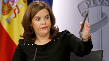 """Ir al VideoEl Gobierno, sobre Cataluña: """"Una declaración de independencia no es posible, no se va a producir"""""""