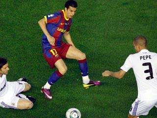 Gol anulado a Pedro por fuera de juego