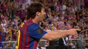 Golazo de Messi para abrir brecha (0-2)