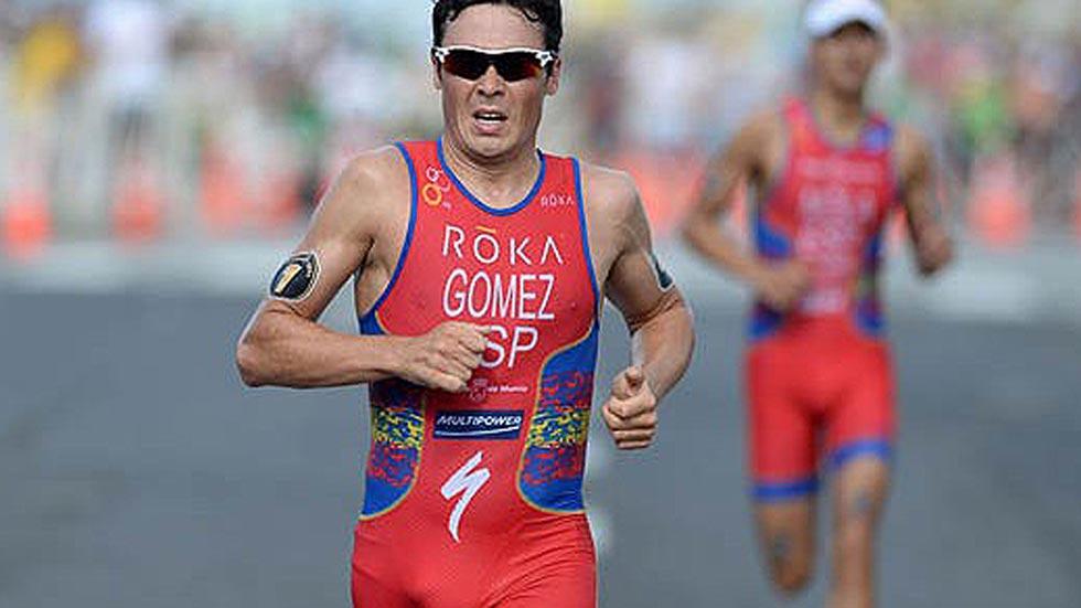 Gómez Noya, plata en la segunda cita de las Series Mundiales de Triatlón