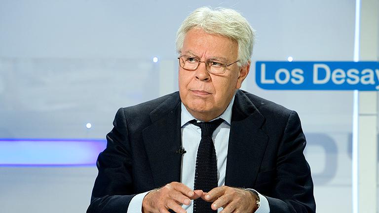 """Felipe González cree que pedir a España que cumpla el déficit es un """"crimen de lesa ciudadanía"""""""