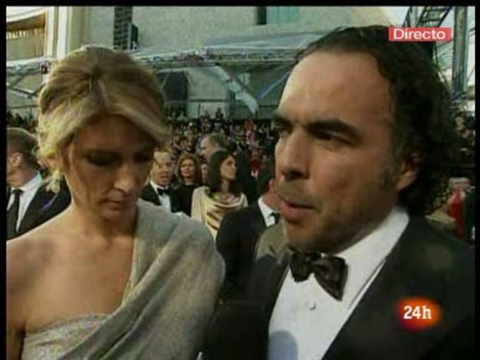 González Iñárritu defiende 'Biutiful' en la alfombra roja