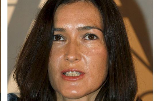 Ángeles González Sinde, ministra de Cultura