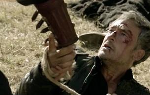 Águila Roja - Gonzalo le salva la vida a Hernán