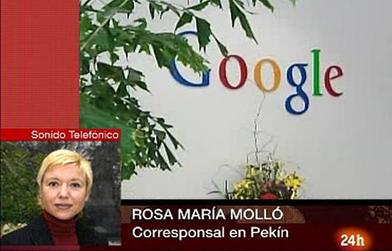 Google amenaza con irse de China