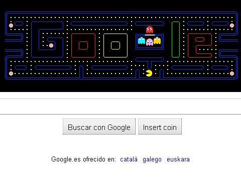 Google homenajea a Pac-Man