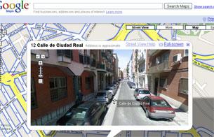 Recorridos virtuales gracias a 'Street view' de Google