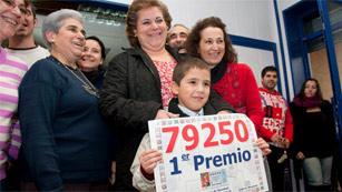 El primer premio de la Lotería de Navidad está muy repartido por toda España