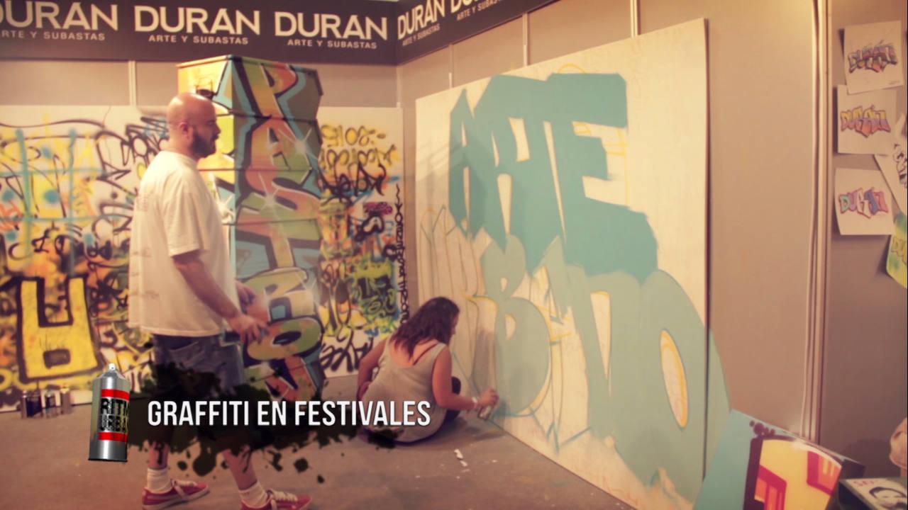 El graffiti en los festivales de música