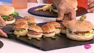 Cocina con Clan - Gran hamburguesa vegetariana