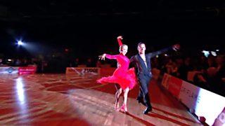 Baile deportivo - Grand Slam Latino. 1ª prueba Helsinki (Finlandia)