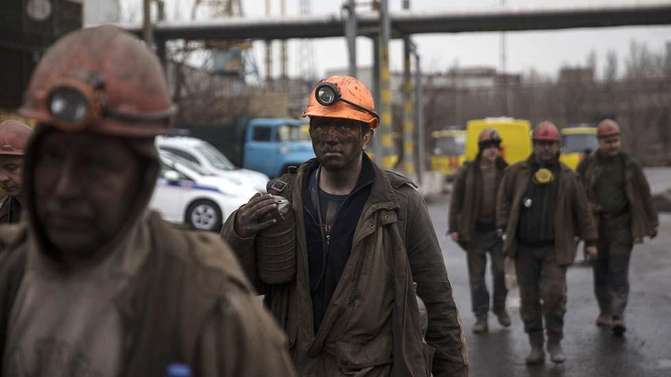 Grave accidente en una mina del este de Ucrania