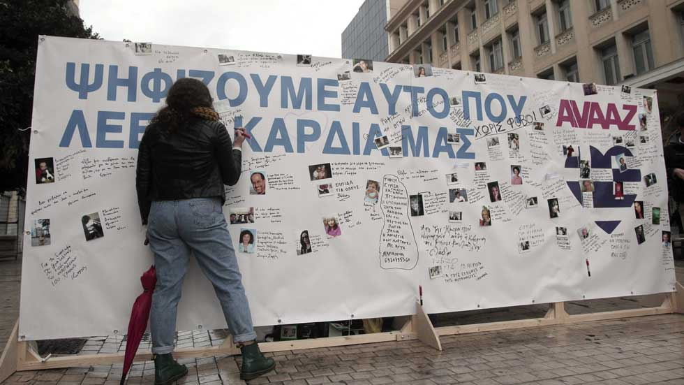 Grecia se prepara para celebrar unas elecciones decisivas