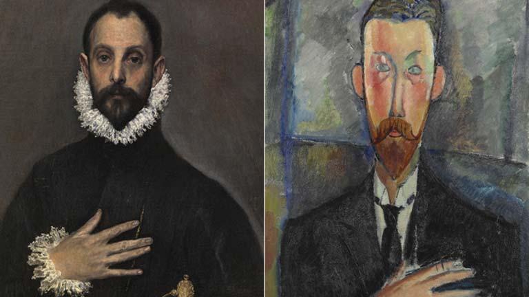 El Greco y Modigliani