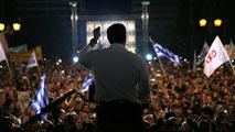Ir al VideoLos griegos se manifiestan a favor y en contra del referéndum