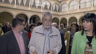 Griñán defiende el trabajo socialista en Andalucía