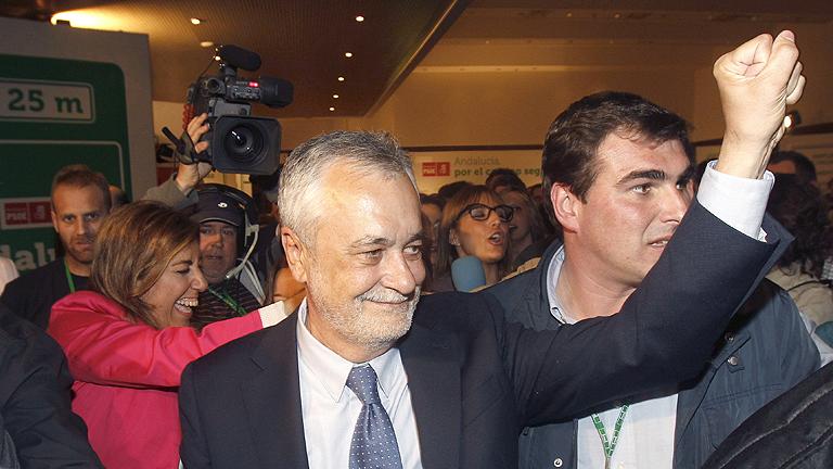 """José Antonio Griñán: """"Yo no esperaba tanto"""""""