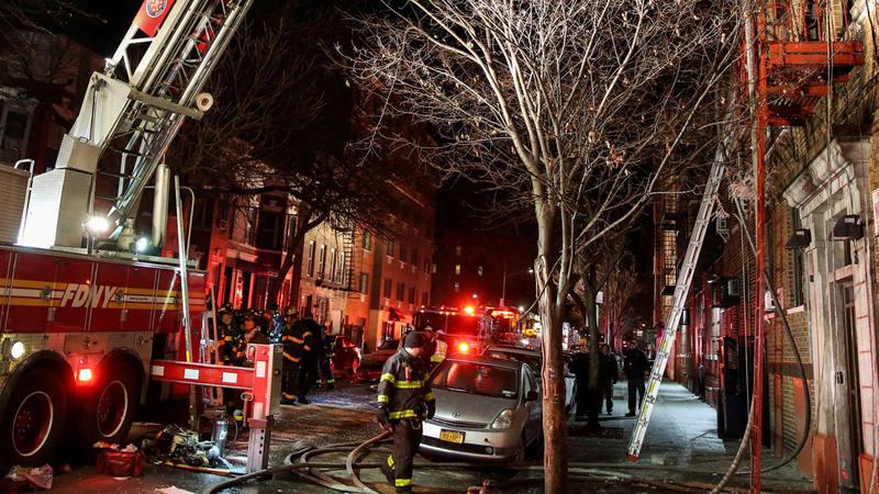 Resultado de imagen de incendio nueva york