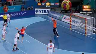 Mundial de Balonmano - Grupo D: España-Croacia
