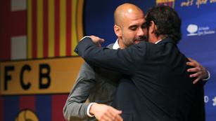 Guardiola cierra su ciclo como entrenador del Barça