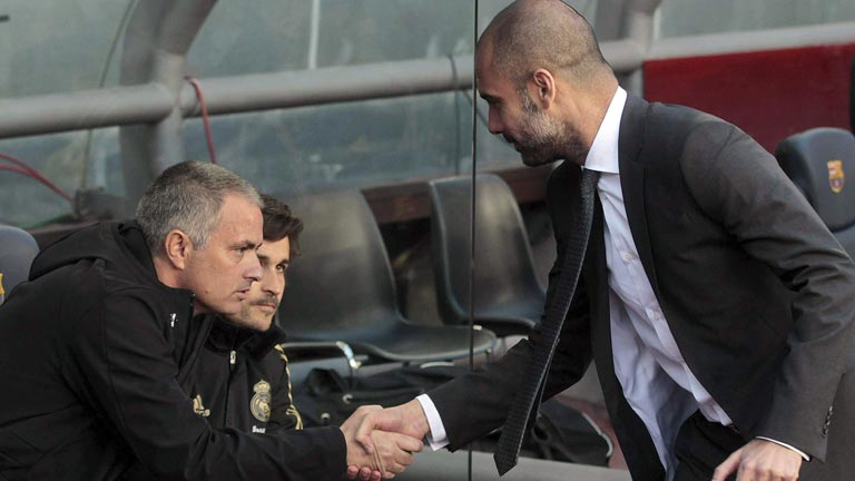 Guardiola felicita al Madrid con matices