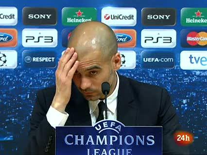 """Guardiola: """"Ha sido una de las noches más bonitas"""""""