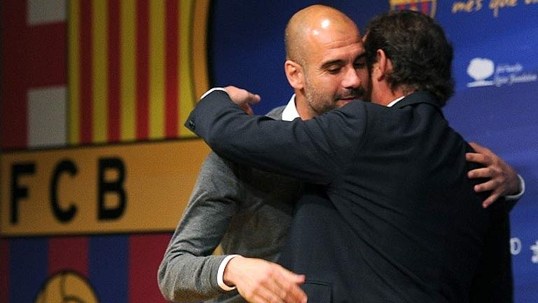 """Guardiola: """"El tiempo lo desgasta todo"""""""