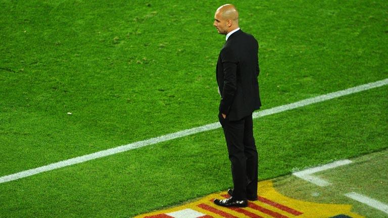 """Guardiola: """"Veremos qué es lo mejor para la institución"""""""