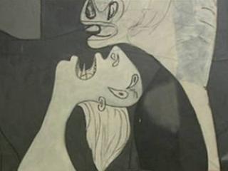 La mitad invisible - El Guernica, de Pablo Ruiz Picasso