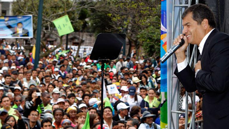 """Rivalidad de """"los Correa"""" ante la futura presidencia de Ecuador"""