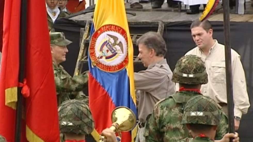 La guerrilla colombiana de las FARC ha liberado al general Rubén Darío Alzate