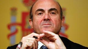 De Guindos confirma la recapitalización de la banca española