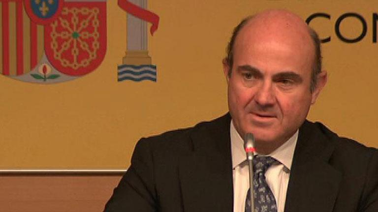 De Guindos confirma la solicitud del rescate financiero español a la UE
