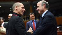"""Ir al VideoGuindos pide al nuevo Gobierno griego que """"recapacite"""" y pida la prórroga del rescate"""